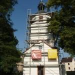 Kirche Zweenfurth Mineralfarb- System Denkmalschutz