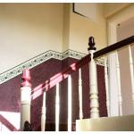 Treppenhaus  mit gewickelten Sockel