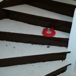 Treppensanierungssystem  faserhaltige Ausgleichmassen