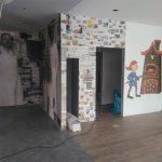 Bäckereifiliale / Cafe /Wandgestaltung mit Fotodrucken