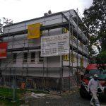 Renovierung nach historischen Vorbild / feiner Filzputz