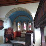 Restaurierung Kirche Albrechtshain gemalt nach Quentinischer Fassung